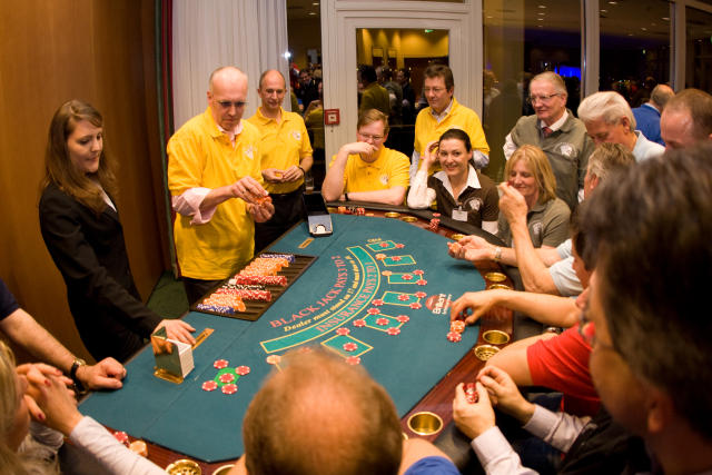"Casino-Night ""Teambuilding"""