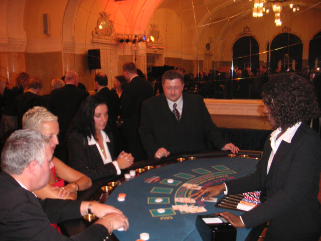 Galafeier Casino Night