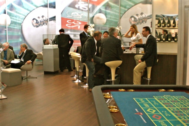 "Casino-Event ""Messeauftritt"""